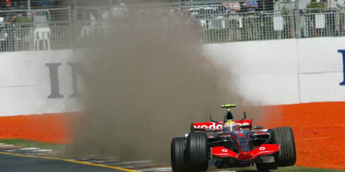 Lewis Hamilton F1-Debüt Australien 2007