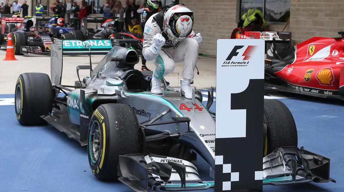 Lewis Hamilton - Force India - GP USA 2015