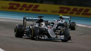 Lewis Hamilton - Formel 1 - GP Abu Dhabi 2016