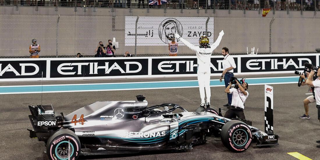 Lewis Hamilton - Formel 1 - GP Abu Dhabi 2018