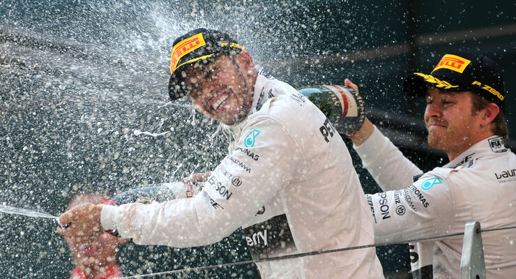 Lewis Hamilton - Formel 1 - GP China 2015