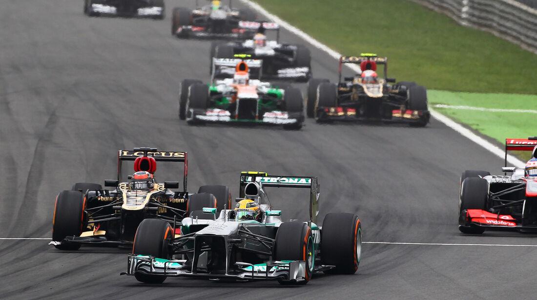 Lewis Hamilton - Formel 1 - GP Italien 2013