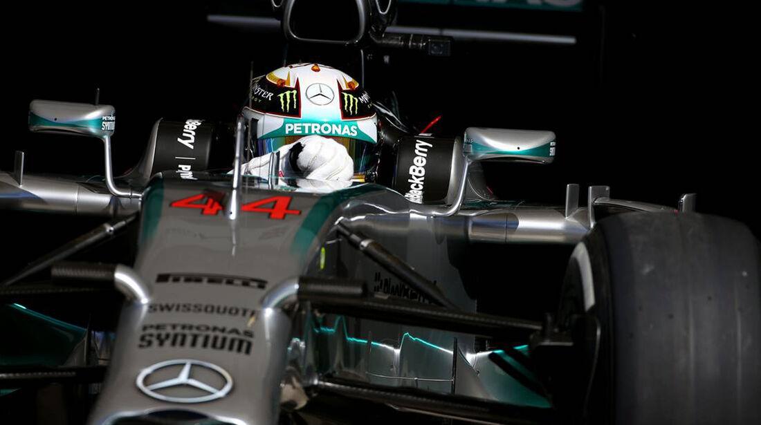 Lewis Hamilton - Formel 1 - GP USA - 1. November 2014