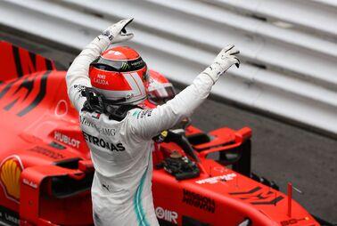 Hamilton zittert sich zu Monaco-Sieg
