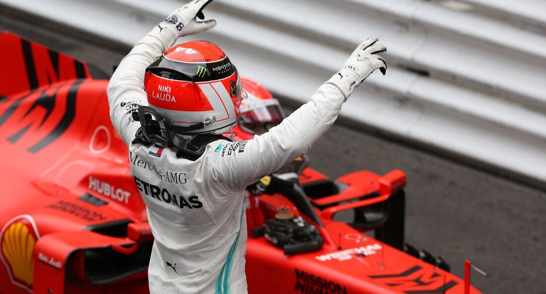 Lewis Hamilton - Formel - GP Monaco - 26. Mai 2019