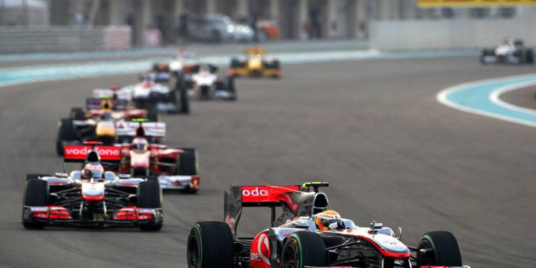 Lewis Hamilton GP Abu Dhabi 2010