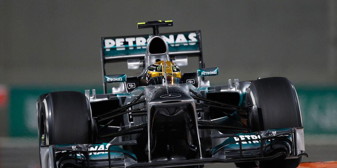 Lewis Hamilton - GP Abu Dhabi 2013