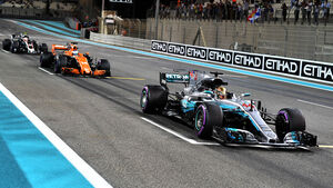 Lewis Hamilton - GP Abu Dhabi 2017