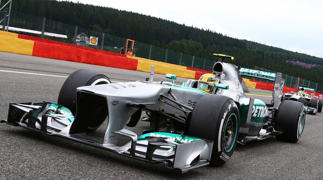Lewis Hamilton - GP Belgien 2013