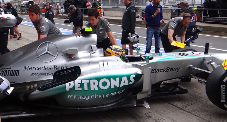 Lewis Hamilton GP Deutschland 2013