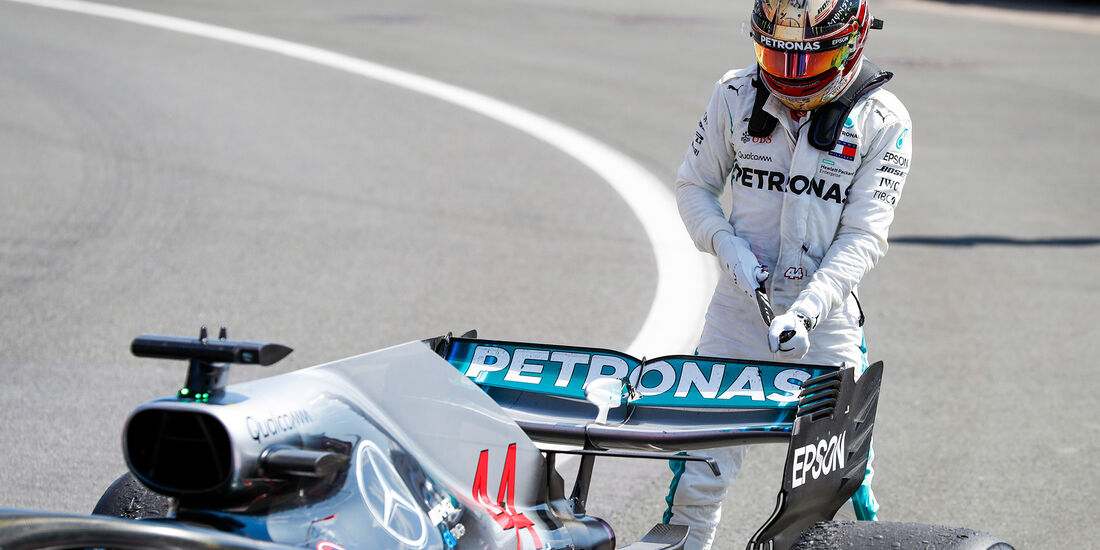 Lewis Hamilton - GP England 2018