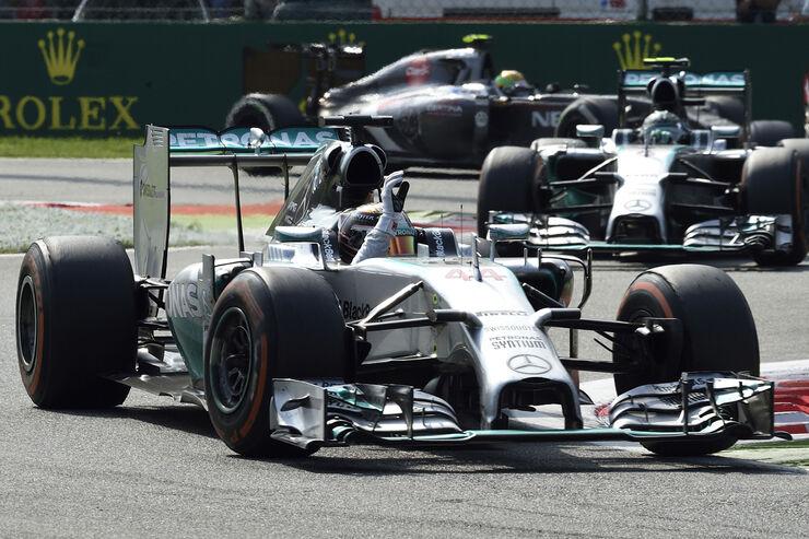 Lewis Hamilton - GP Italien 2014