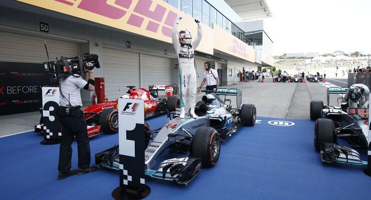 Lewis Hamilton - GP Japan 2015