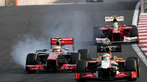 Lewis Hamilton GP Korea 2012