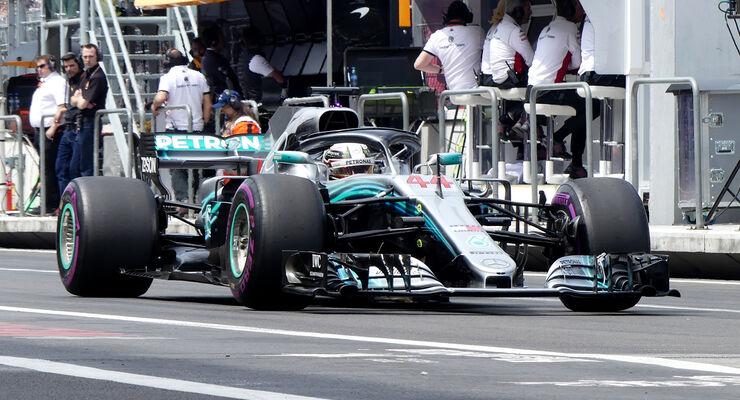 Lewis Hamilton - GP Mexiko 2018