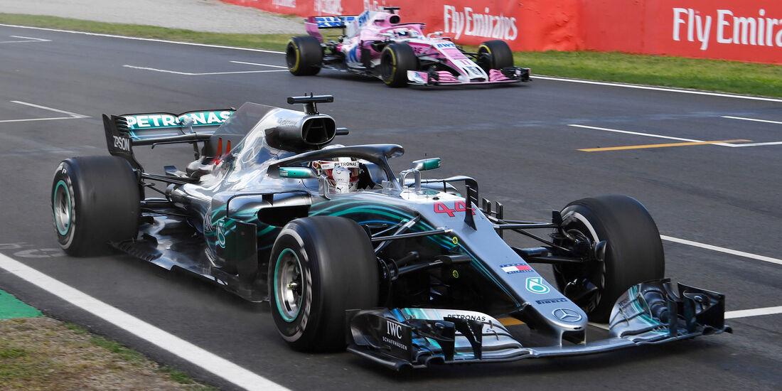 Lewis Hamilton - GP Spanien 2018