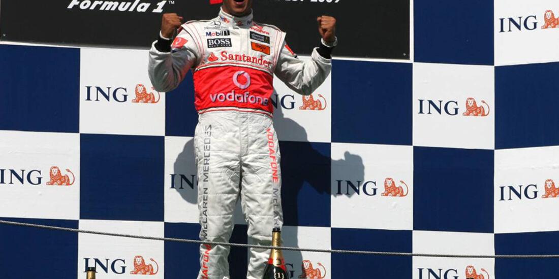 Lewis Hamilton GP Ungarn 2009
