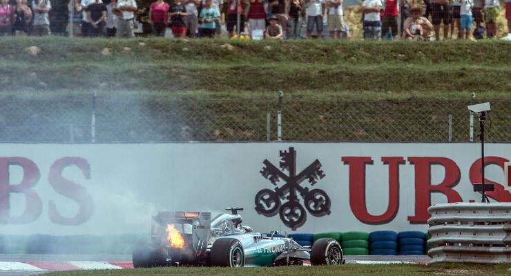 Lewis Hamilton GP Ungarn 2014 Mercedes