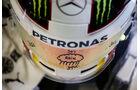 Lewis Hamilton - Helm - Mercedes - GP Österreich - Formel 1 - Freitag - 19.6.2015