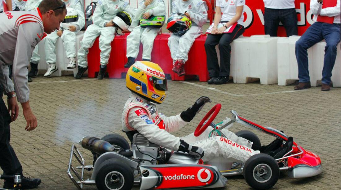 Lewis Hamilton Kart 2007