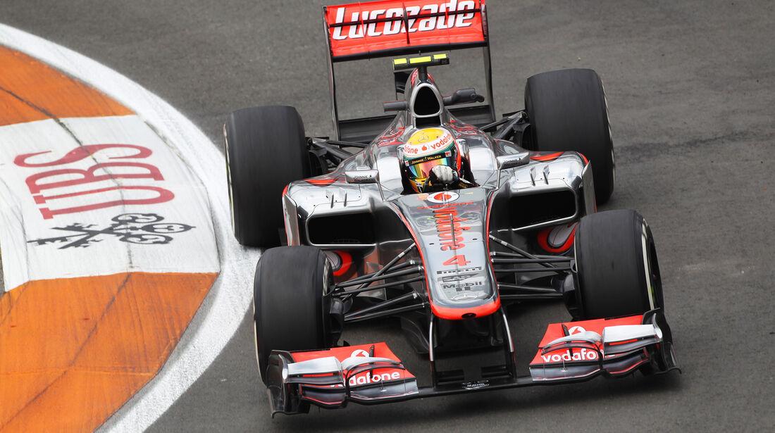 Lewis Hamilton - McLaren - GP Europa - Formel 1 - Valencia - 22. Juni 2012