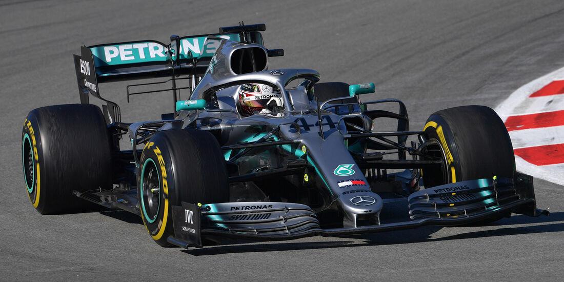 Lewis Hamilton - Mercedes - Barcelona - F1-Test - 27. Februar 2019