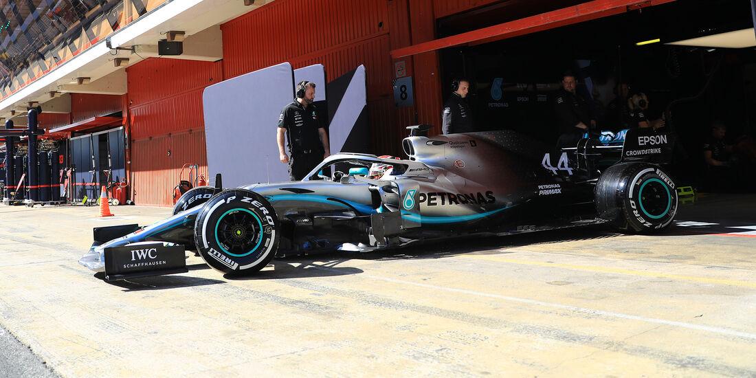 Lewis Hamilton - Mercedes - F1-Test - 26. Februar 2019