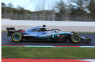 Lewis Hamilton - Mercedes - F1-Test - Barcelona - Tag 5 - 6. März 2018