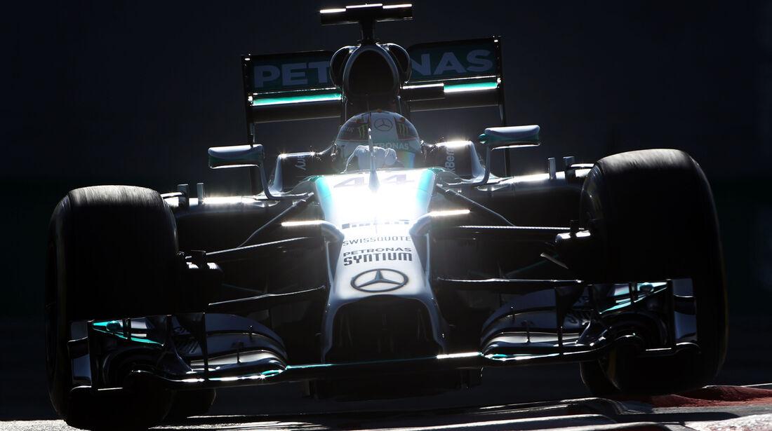 Lewis Hamilton - Mercedes - Formel 1 - GP Abu Dhabi - 22. November 2014