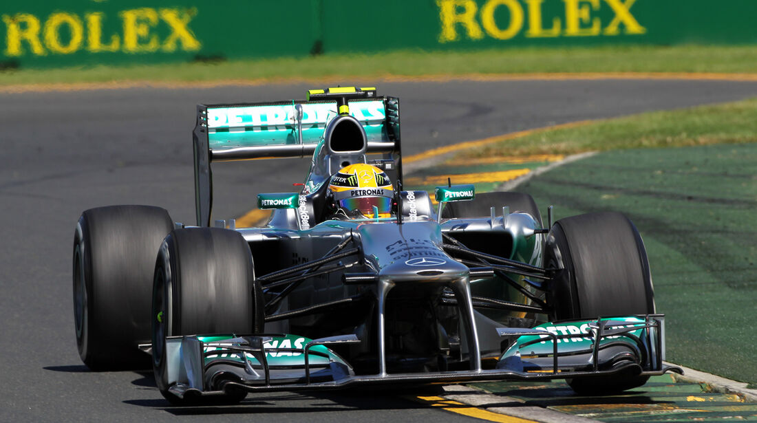 Lewis Hamilton - Mercedes - Formel 1 - GP Australien - 15. März 2013
