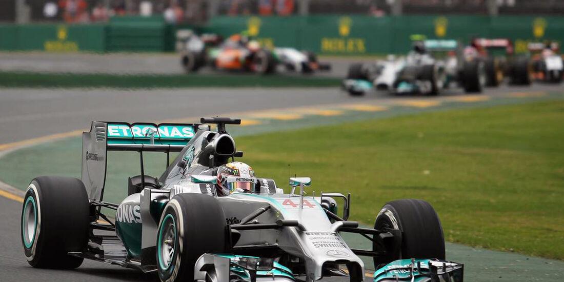 Lewis Hamilton - Mercedes  - Formel 1 - GP Australien - 15. März 2014