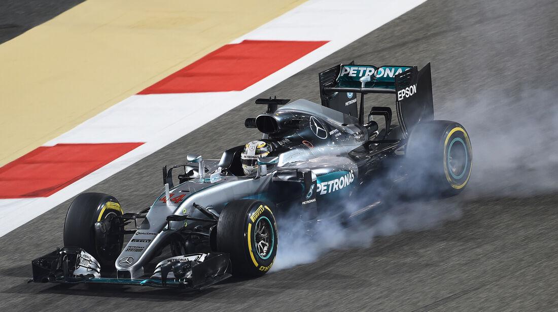 Lewis Hamilton - Mercedes - Formel 1 - GP Bahrain - 1. April 2016
