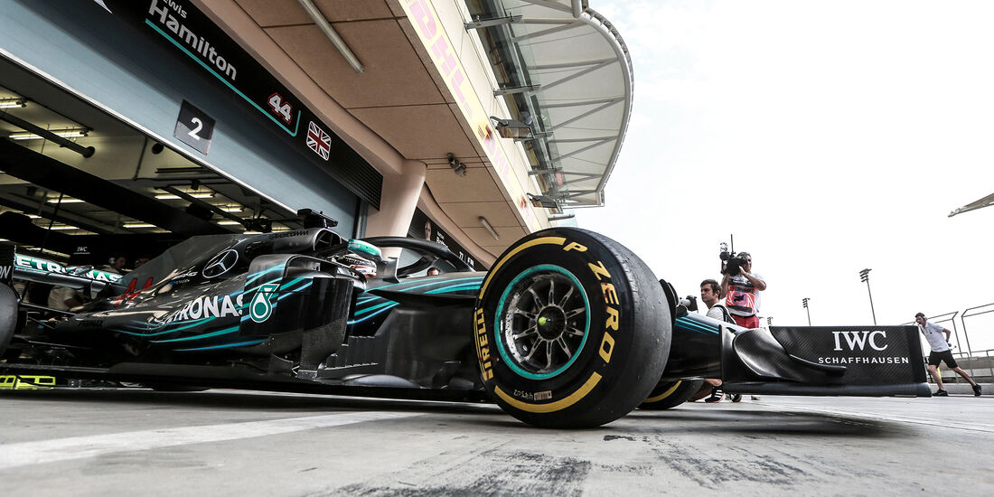 Lewis Hamilton - Mercedes - Formel 1 - GP Bahrain - Training - 6. April 2018