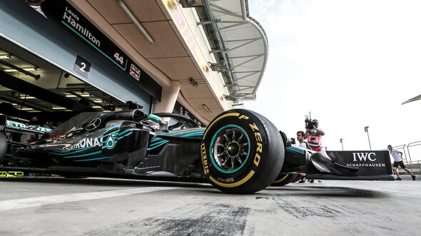 Lewis Hamilton - Mercedes - Formel 1 - GP Bahrain - Training - 6. April 2018