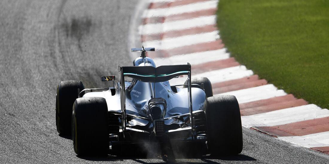 Lewis Hamilton - Mercedes - Formel 1 - GP Belgien - Spa-Francorchamps - 27. August 2016