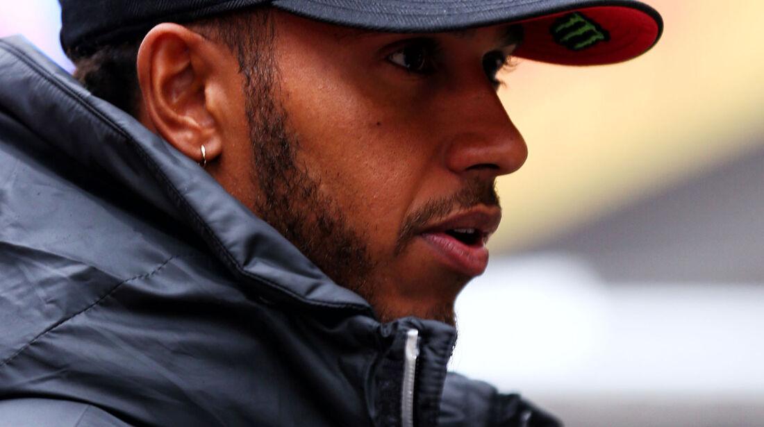 Lewis Hamilton - Mercedes - Formel 1 - GP China - Shanghai - 6.4.2017