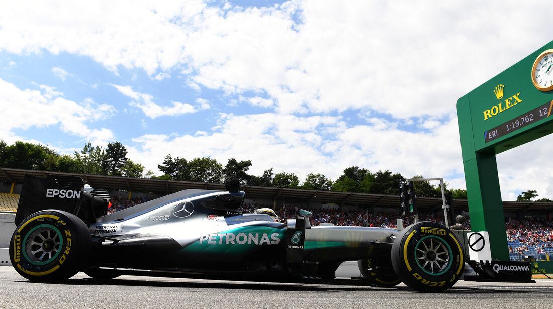 Lewis Hamilton - Mercedes - Formel 1 - GP Deutschland - 29. Juli 2016