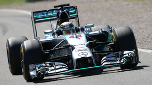 Lewis Hamilton - Mercedes - Formel 1 - GP Deutschland - Hockenheim - 18. Juli 2014
