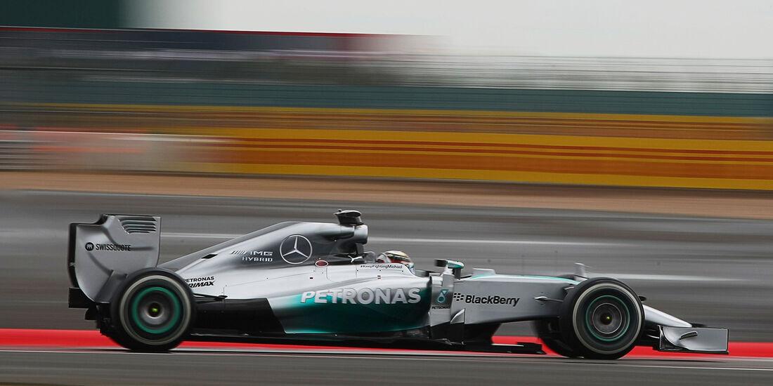 Lewis Hamilton - Mercedes - Formel 1 - GP England - Silverstone - 5. Juli 2014