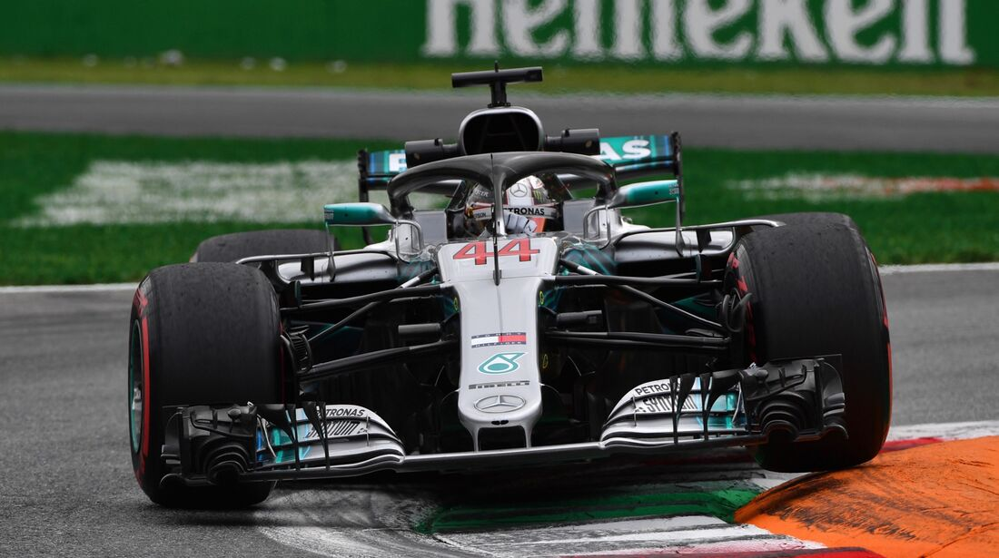 Lewis Hamilton - Mercedes - Formel 1 - GP Italien - 31. August 2018
