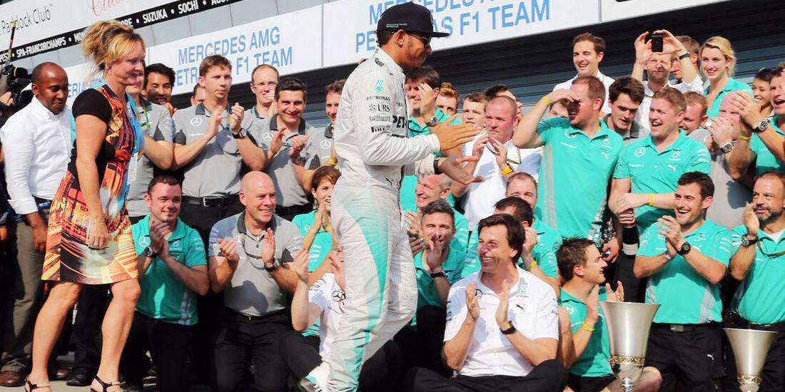 Lewis Hamilton - Mercedes - Formel 1 - GP Italien - 7. September 2014