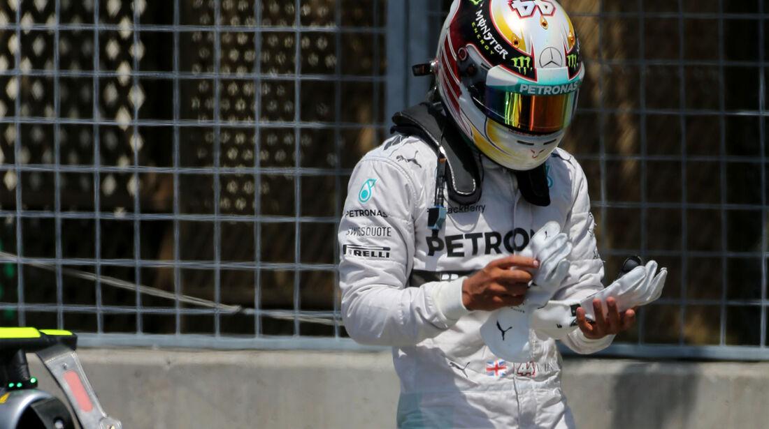 Lewis Hamilton - Mercedes - Formel 1 - GP Kanada - Montreal - 7. Juni 2014