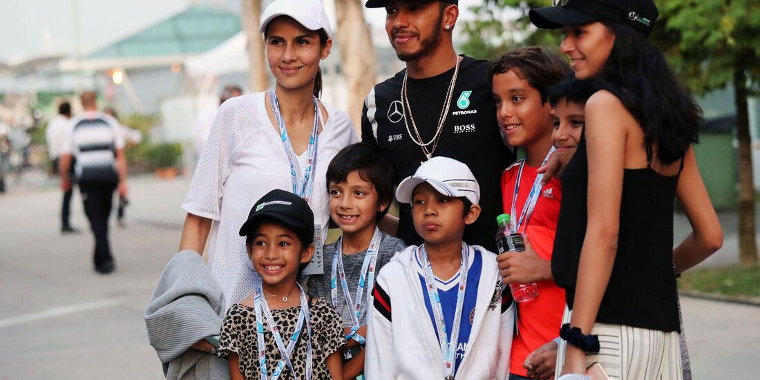 Lewis Hamilton - Mercedes - Formel 1 - GP Malaysia - Qualifying - 1. Oktober 2016