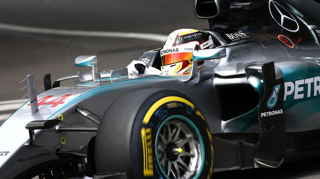 Lewis Hamilton - Mercedes - Formel 1 - GP Monaco - 21. Mai 2015