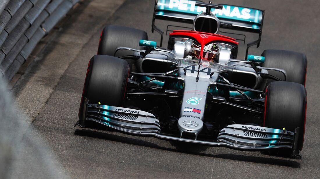 Lewis Hamilton - Mercedes - Formel 1 - GP Monaco - 25. Mai 2019