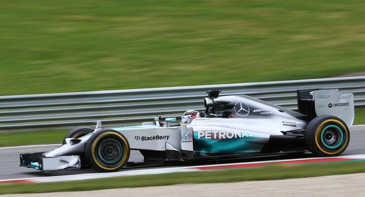 Lewis Hamilton - Mercedes - Formel 1 - GP Österreich - Spielberg - 20. Juni 2014