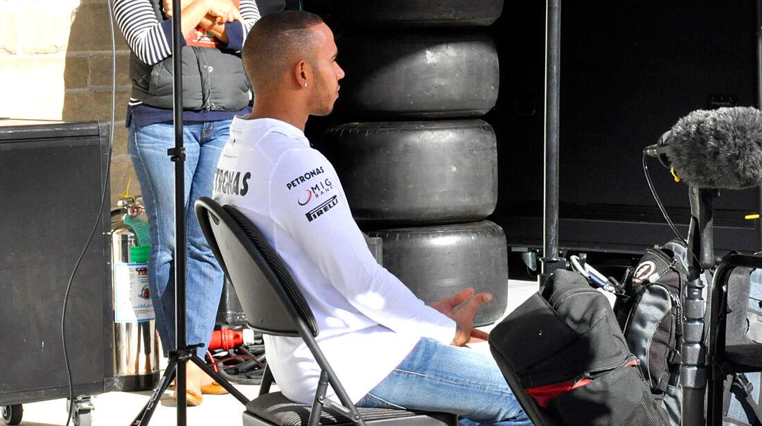 Lewis Hamilton - Mercedes - Formel 1 - GP USA - Austin - 13. November 2013