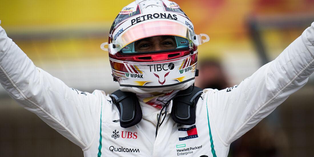 Lewis Hamilton - Mercedes - Formel 1 - GP USA - Austin - 20. Oktober 2018