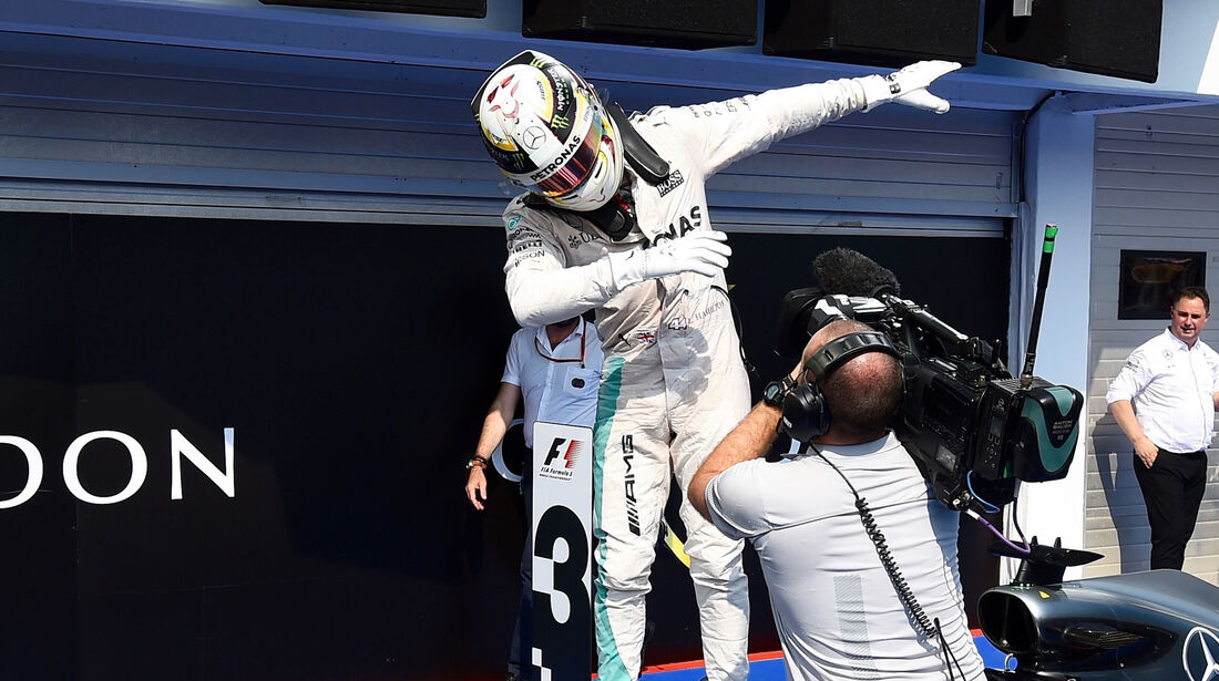 Lewis Hamilton - Mercedes - Formel 1 - GP Ungarn - 24. Juli 2017
