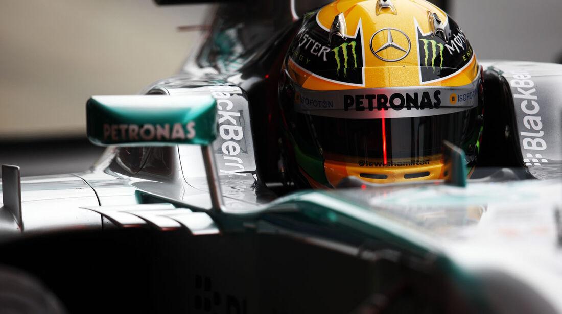 Lewis Hamilton, Mercedes, Formel 1-Test, Barcelona, 22. Februar 2013